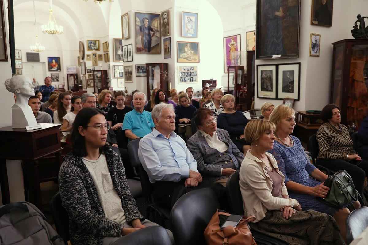 День памяти Л.Н. Сафроновой в Академии 9 сентября 2019 г.