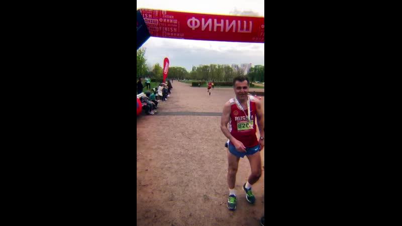 Пробег в Пулковском парке 11 мая 2019