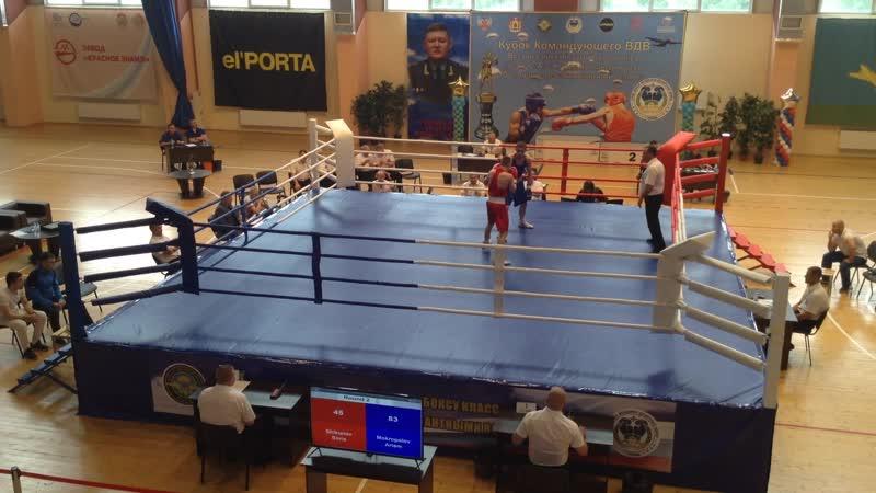 одначетвертая Кубка Командующего ВДВ по боксу в Рязани 23 мая 2019 года