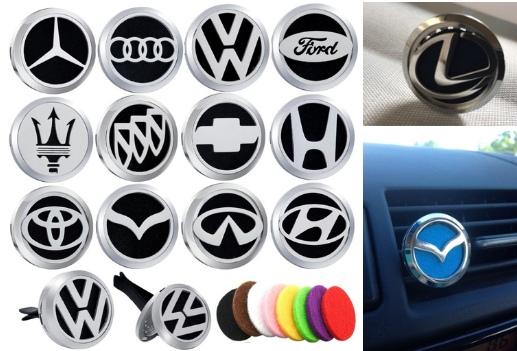 Освежители воздуха Логотипом Автомобиля