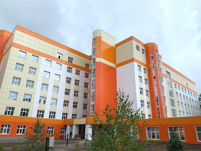 Лечебный корпус на 190 коек Дубненской городской больницы введен в эксплуатацию