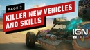 Rage 2's Killer New Vehicles Abilities and Upgrades IGN First
