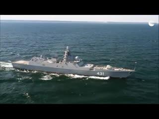 """Испытания новейшего фрегата """"Адмирал Касатонов"""""""