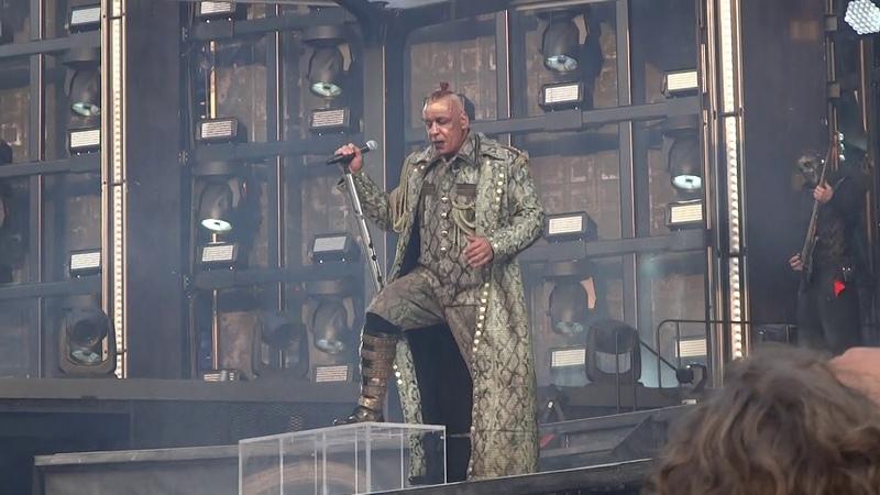 Rammstein Was ich liebe Что я люблю Live in Rotterdam 25 06 2019