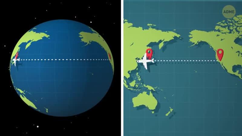 Почему самолеты не летают над Тихим океаном