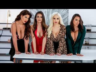 Office 4-Play: Latina Edition Bridgette B, Katana Kombat, Luna Star, Victoria June