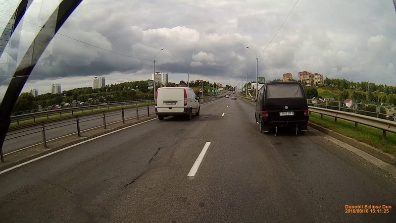 Потеря колеса Т4 - Мост ул.Королёва [16082019 - 1510]