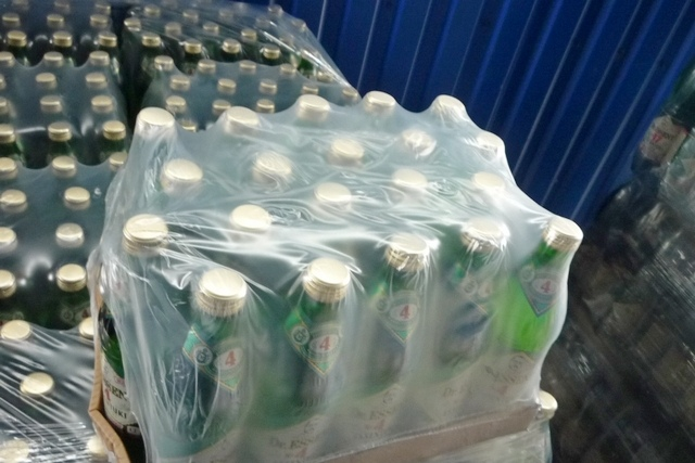 Таганрогская таможня перекрыла канал экспорта контрафактной минеральной воды