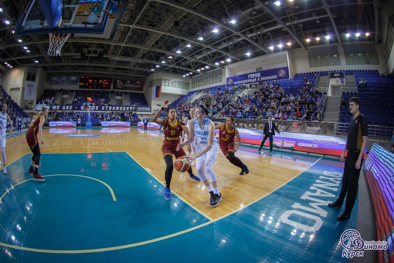 Курское «Динамо» ведёт 2:0 в полуфинальной серии с «Надеждой»