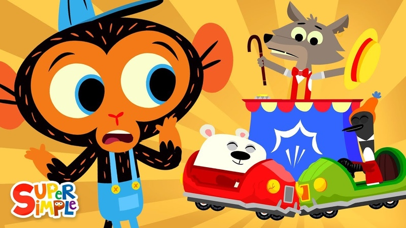 Mr Coyote's Bumper Cars Don't Bump Mr Monkey Monkey Mechanic
