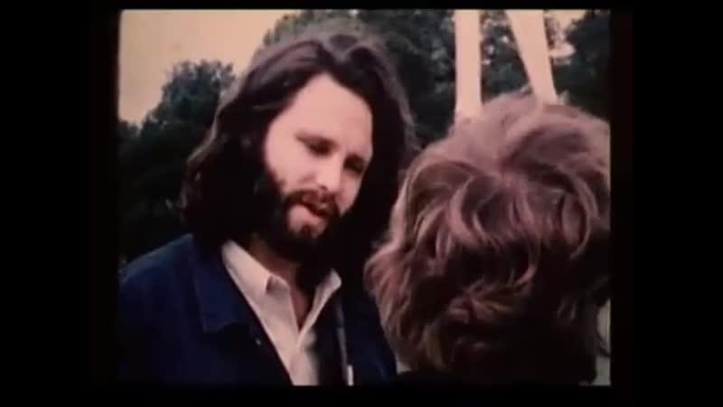 Jim Morrison and Alain Ronay Peau dAne (Donkey Skin) Jacques Demy, Chambord, Loir-et-Cher, France (06.970)