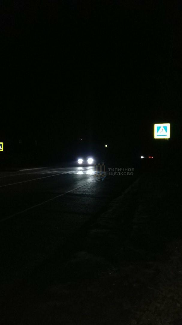 В Назимихе нет дорожного освещения 3 день
