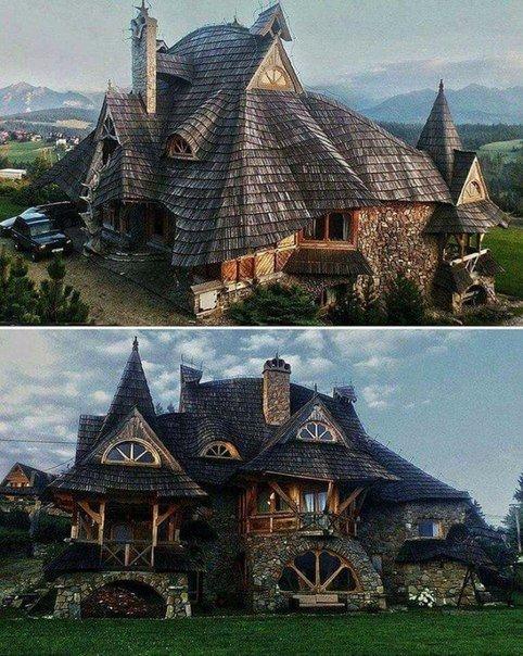 Домик в горах, Польша