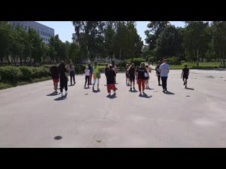 FLY MOTION ACADEMY - Hip Hop police 2020 (training routine)
