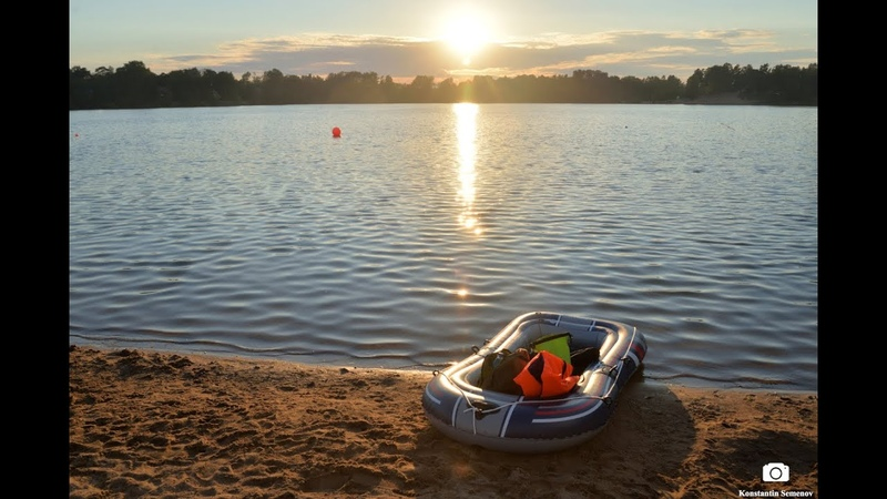 My first trip on inflatable boat Bestway Hydro Force Raft Treck X1