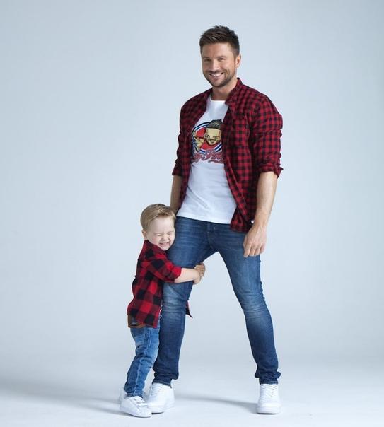 Сергей Лазарев снял в новой фотосессии своего сына!