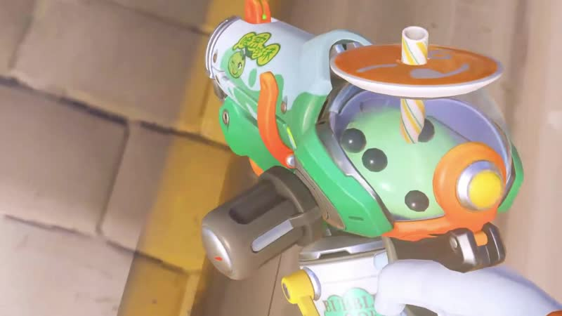 Meis gun is literally filled with bubble tea.