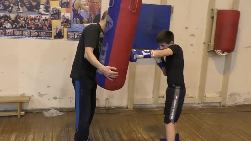 Бокс как сделать удар акцентированным