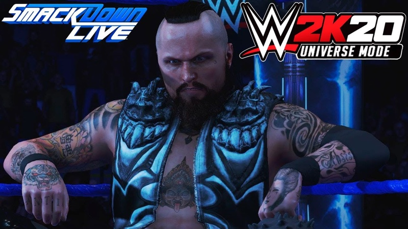 WWE 2K20 Universe SmackDown LIVE На Русском 8