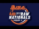 USA Powerlifting Raw Nationals - Prime Time - Friday