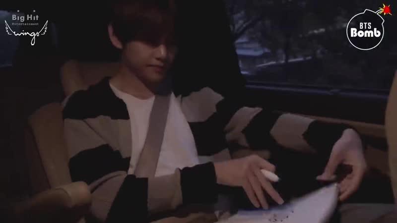 [RUS SUB] [РУС САБ] [BANGTAN BOMB] Winter Bear cover shooting behind - BTS (방탄소년단)