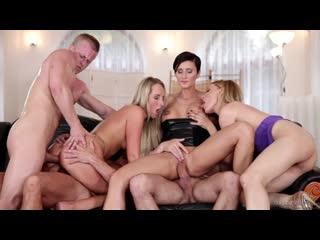 Gabrielle  Simons, Gina Momelli - Swingers Orgies 8.Порно оргия.секс