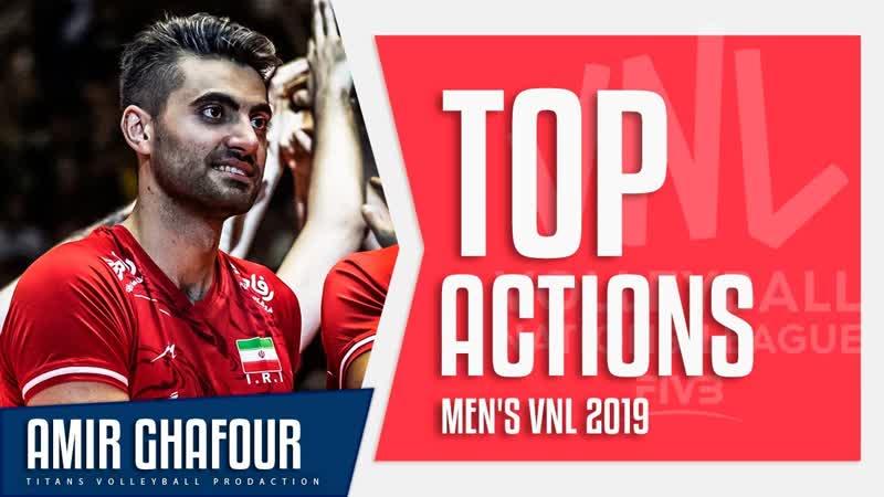 Amir Ghafour Best Volleyball Aсtions VNL 2019 ᴴᴰ