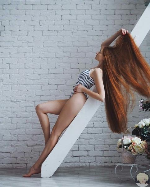 Русская красавица Анастасия Сидорова, победившая облысение