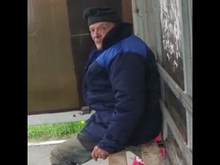 Жители Подмосковья спасли бездомного, которого выгнали из больницы