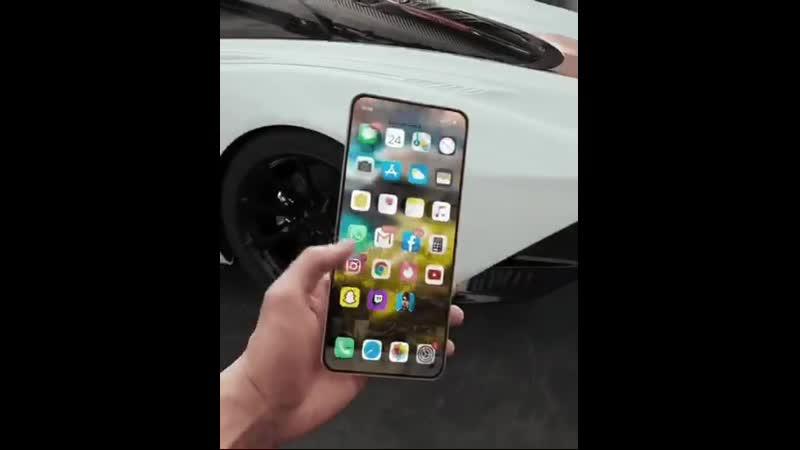Концепт гибкого iPhone
