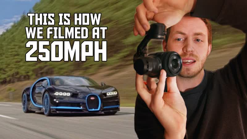 How we filmed a Bugatti Chiron at 250mph REVEALED 2160p 25fps VP9 LQ 128kbit AAC