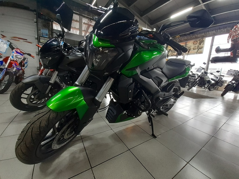 Обзор мотоцикла Bajaj Dominar, изображение №5