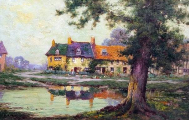 Художник Альфред Фонтвилль де Бреански, младший родился в 1877 году, в большой семье (в семье было семеро детей известного английского художника-пейзажиста Альфреда де Бреански.С ранних лет под
