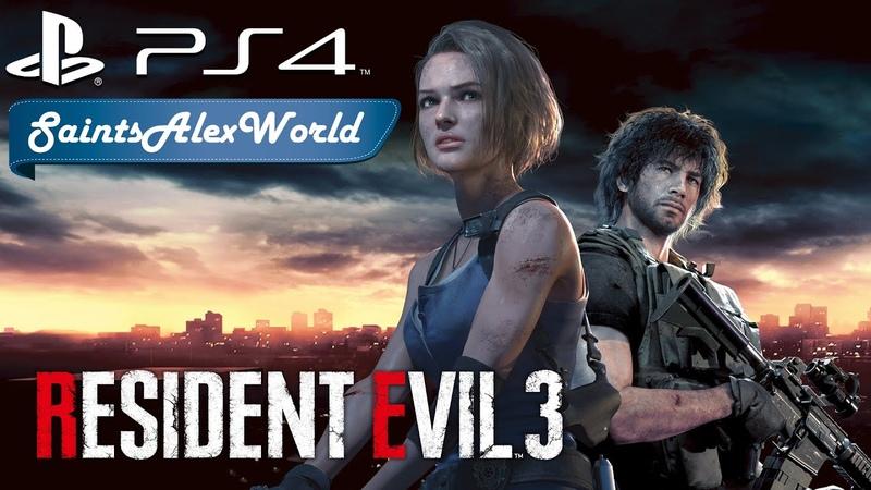 Resident Evil 3: Remake [PS4] Японская озвучка 4 - Исследуем полицейский участок