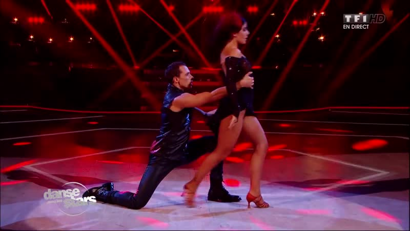 Un tango avec Alizée et Grégoire Lyonnet TFT 1