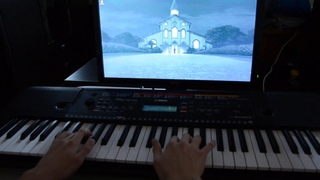 Fate/Stay Night Haga Keita - Oka no Ue no Kyoukai (piano)