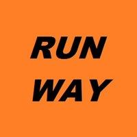 Логотип RusRunWay - клуб любителей бега