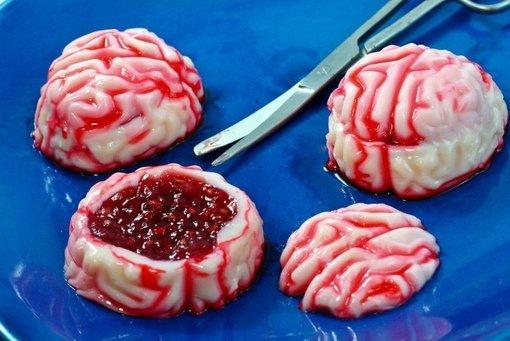 Десерты в виде мозгов Съели бы такой