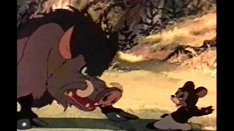 Мишка-задира (1955) — мультфильм, короткометражка