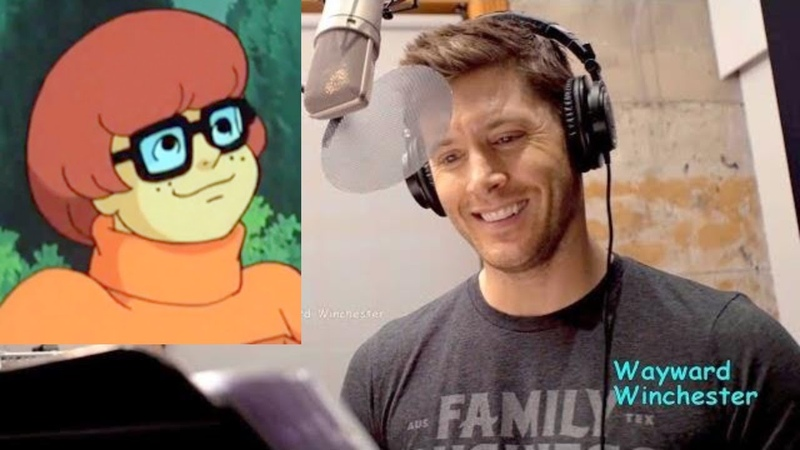 Jensen Ackles Voicing Velma On Scoobynatural