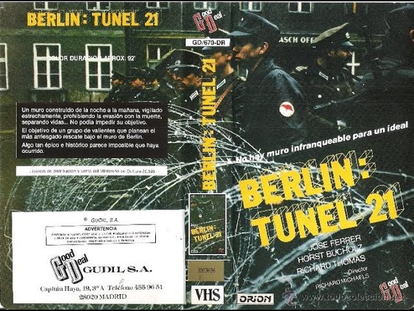 Cine de los 80 Berlin Tunel 21 **1981**