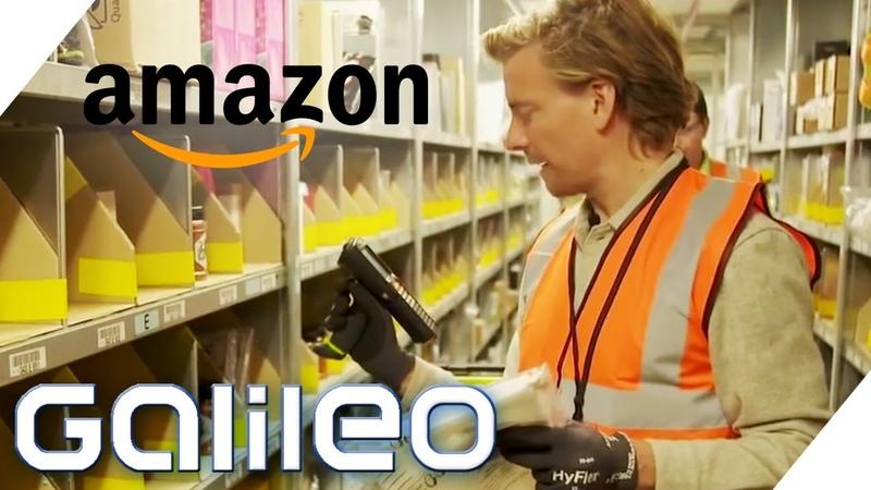 Arbeiten bei Amazon Wie sieht der Job während der Corona-Krise aus | Galileo | ProSieben