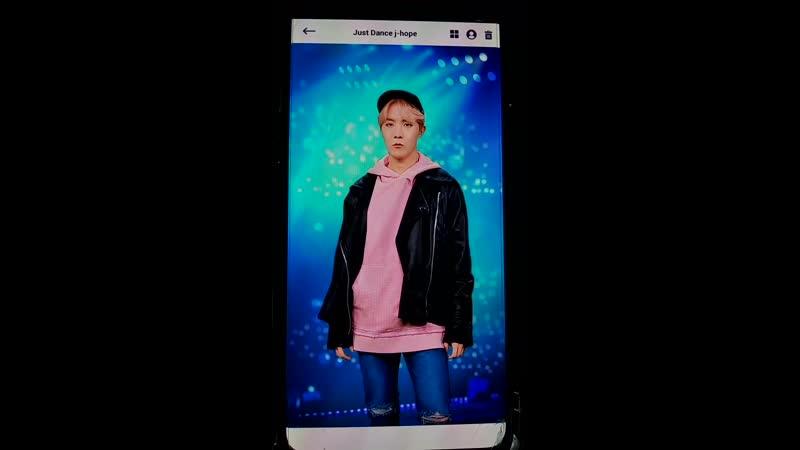 BTS World Карта Хосока Just Dance j hope