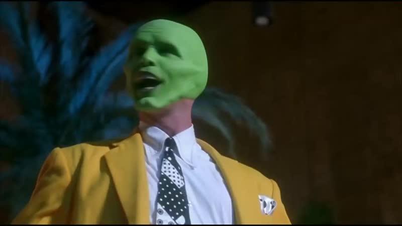 Джимм Керри бросает Кэмерон Диаз во время танца