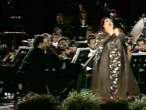 La Grande Notte a Verona Nucci Dvorsky Raimondi Obraztsova Furlanetto Caballe Carreras
