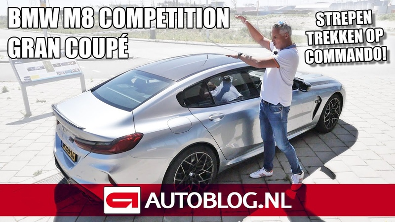BMW M8 Gran Coup Competition banden roken wanneer jij dat wilt