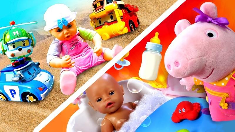 Compilation la vie des bébés Vidéos avec Baby Annabell pour enfants