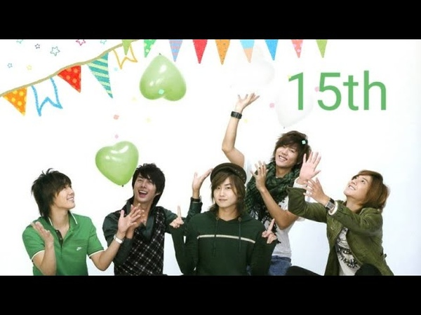 ( SS5O1 ) 🎉15th anniversary ..15 years of heartbeat 💓💓💓