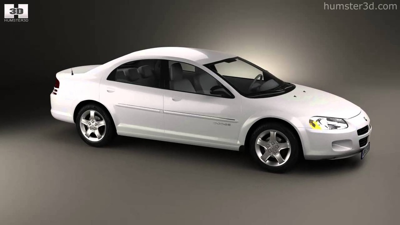 Dodge Stratus 2001 by 3D model store Humster3D.com