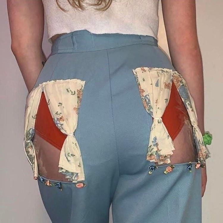 Новая мода на джинсы